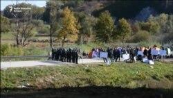 Migranti zahtijevaju da se otvori granica prema Hrvatskoj
