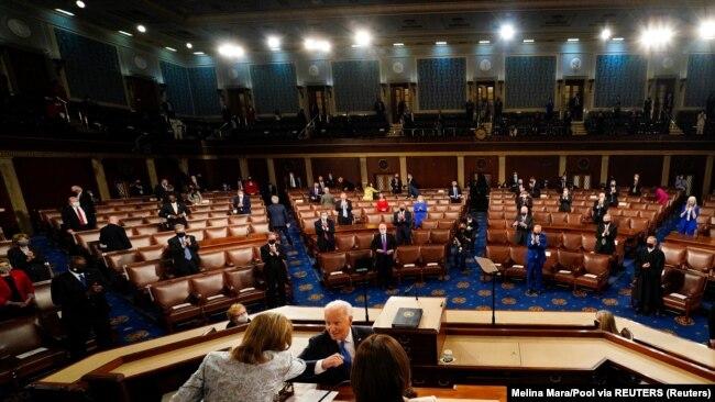 Predsednik SAD se obratio pred oko 200 članova Kongresa, zbog pandemije korona virusa