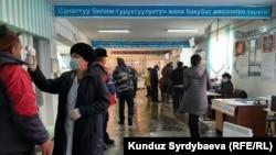 Выборы в Кыргызстане. Каракол, 10 января 2021 года