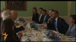 Барак Обама у Швеції