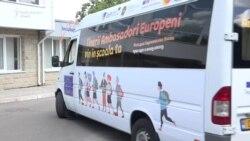 Caravana burselor europene va ajunge în zece localităţi