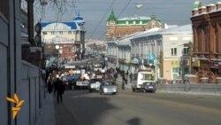 Митинг протеста в Томске