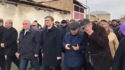 Bakıda yürüş: İlham Əliyev, Rəsulzadə, işsizlik, korrupsiya haqda