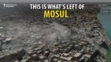 Drone Video Shows Devastation Of Liberated Mosul