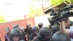 Ciocniri între poliție și naționaliști ucraineni la Obuhiv, regiunea Kiev