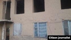 Спорный дом, из-за которого Гуландом Дедабаева устроила самоподжог.