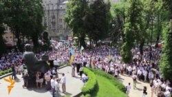 25 05 2015 Марш во Киев и Астана, прослава во Тбилиси