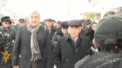 Kazakh Opposition Protests Election Results