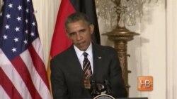 Обама по итогам встречи с Меркель