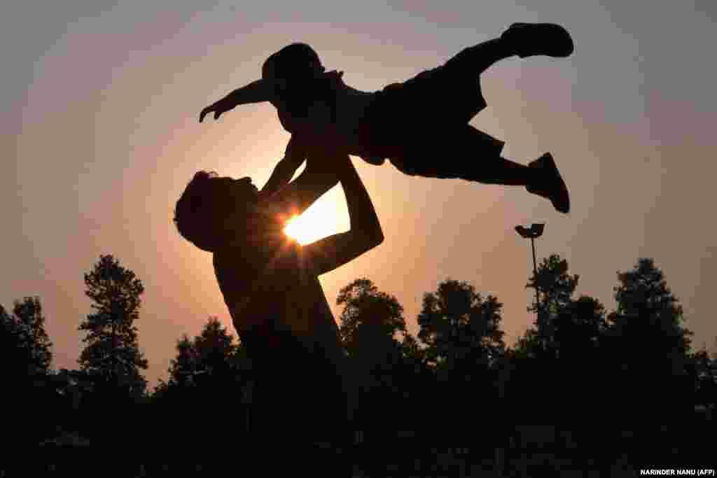 Június 20-án köszöntöttük az apákat.