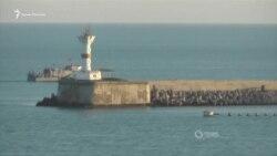 В Севастополе обезвредили мину весом почти в тонну (видео)