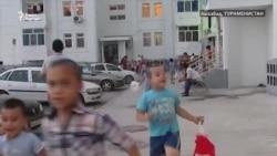 Ашхабадские дети встретили Рамадан святочными песнопениями
