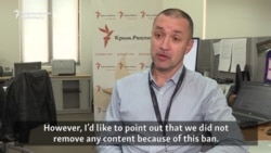 Crimea Realities Chief Welcomes Unblocking Of Website