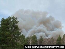 Пожары в лесах Тюменской области