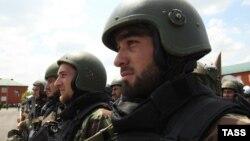 Бойцы полка специального назначения имени А. Кадырова, иллюстративное фото