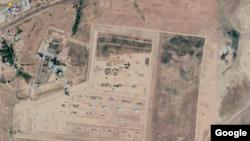 На снимке со спутника — военные склады в Жамбылской области