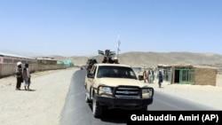 Патруль «Талибана», архивное фото
