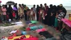 Десятки тысяч рохинья покинули зону конфликта в Мьянме