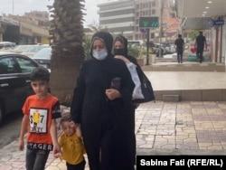 Pe străzile din Duhok, Irak, 7 septembrie 20210