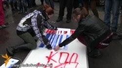 Київські студенти провели акцію «Код війни – запам'ятай!»
