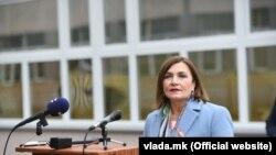 Jагода Шахпаска, министерка за труд и социјална политика
