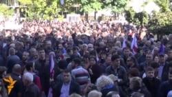 Протести во Тбилиси и Кишињев