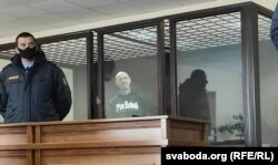 Ігар Банцэр у судзе 19 сакавіка