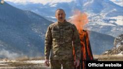 Prezident İlham Əliyev, Şuşa, Cıdır düzü, 20 mart 2021