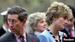 Принц Чарлз и принцеса Диана