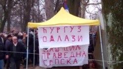Protest demobilisanih boraca u Banjoj Luci