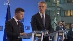 Зеленський подає сигнали до НАТО – відео