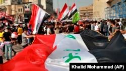 عراق کې مظاهره چیان