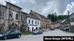 Centrul istoric în Roșia Montană, România