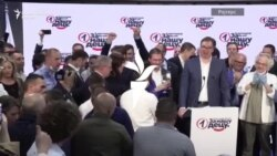 Славење во Српската напредна партија по изборната победа