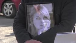 La Kerson au avut loc funeraliile activistei ucrainene Kateryna Handzyuk