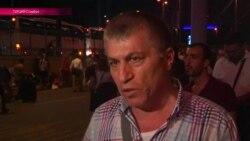 """""""Они палили в полицейских, а те отвечали"""" - очевидцы о теракте в стамбульском аэропорту"""