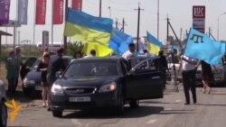Қрим татарлари президентлик сайловида овоз бериш учун Херсонга боришди