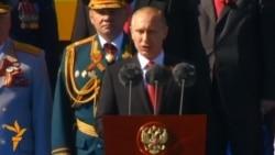 Парад до Дня Перемоги в Москві: Путін обіцяє не зрадити переможців нацизму