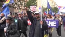 Protest Vojnog i Policijskog sindikata: Smenite Vulina i Stefanovića
