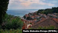 Охрид - поглед на Срариот град.
