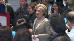 Клинтон проголосовала в штате Нью-Йорк