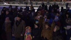 У Запоріжжі провели мітинг до третьої річниці розгону місцевого Майдану (відео)