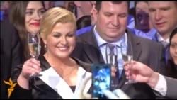 Прва жена претседател на Хрватска