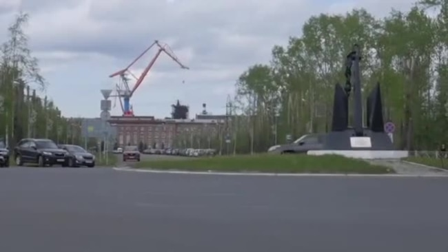 Взрыв под Северодвинском