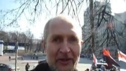 Гомельскі бард Андрусь Мельнікаў на Дні Волі ў Кіеве