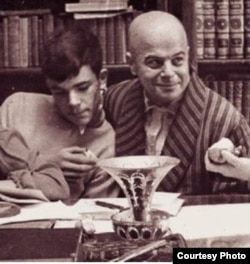 Виктор Шкловский с сыном Никитой