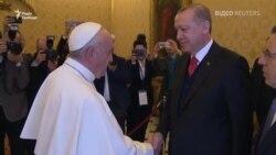 Президент Туреччини вперше за 59 років відвідує Ватикан (відео)