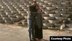 کیومرث مرزبان پس از آزادی از زندان اوین