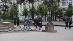 Полиция готовится к акции сторонников Навального в Москве