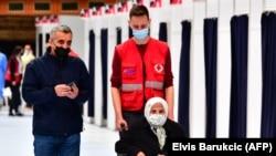 Пункт за вакцинација во Сараево, БиХ